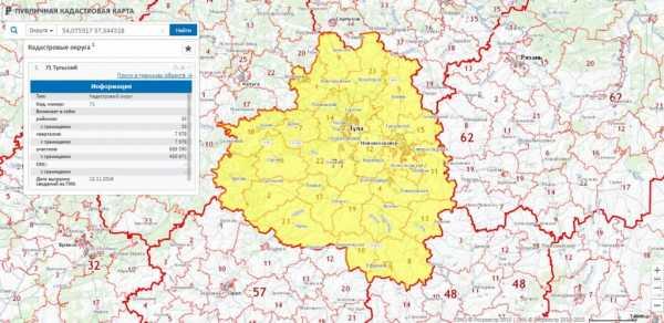 Росреестр интерактивная кадастровая карта