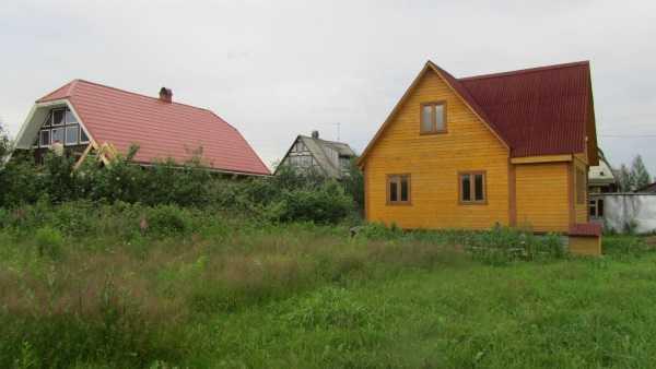 Дом возведен на участке со сттатусом временный
